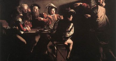 La misericordia y conversión de San Mateo