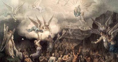 Pidamos por las benditas ánimas del santo purgatorio
