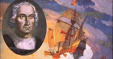 Cristóbal Colón, gloria de España