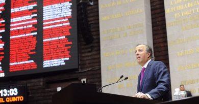José Antonio Meade en Glosa del V Informe de Gobierno