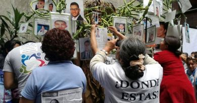 Celebra ONU ley mexicana sobre desaparicion forzada