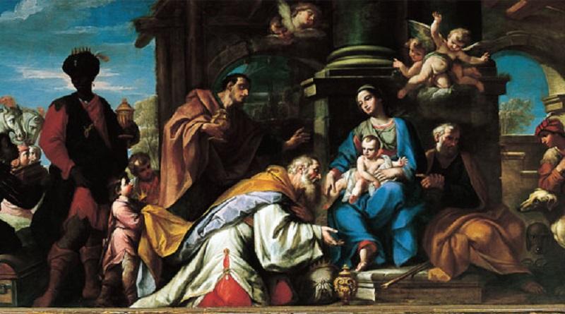Los Reyes Magos se llenaron de gozo al ver al Niño Jesús