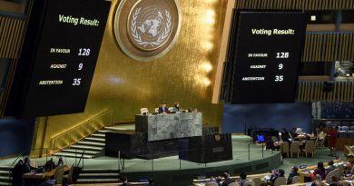 Rechaza ONU misiones diplomáticas en Jerusalén