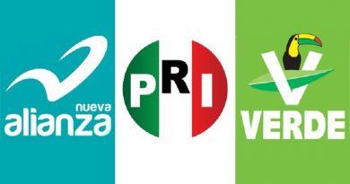 """Cambia PRI nombre de coalición a """"Todos por México"""""""