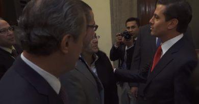 Peña Nieto: El solitario de Los Pinos
