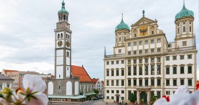 """La bella Augsburgo ocupa una posición inusual y bastante desconocida en la historia del capitalismo, como """"lugar de nacimiento de la modernidad"""""""