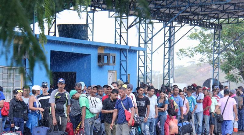"""""""Catastrófica"""", la crisis de desplazados venezolanos"""