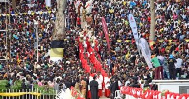 """Miles celebran """"El Camino de la Fe"""" en honor de Mártires Ugandeses"""