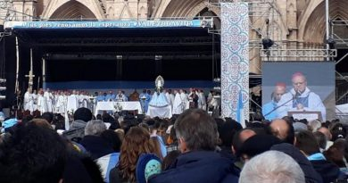 Ante la Virgen de Luján, argentinos rechazan el aborto