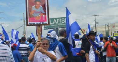Temen se intensifique violencia en Nicaragua