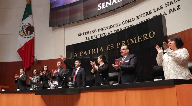 Presidirá Batres Senado mexicano; el Legislativo, protagonista del cambio, dice
