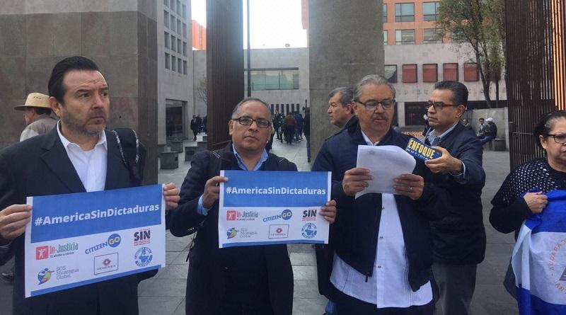 Piden a AMLO exigir democracia en Venezuela y Nicaragua