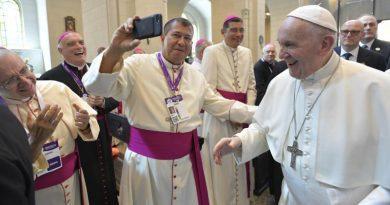 JMJ Panamá 2019: El Papa habla a los obispos