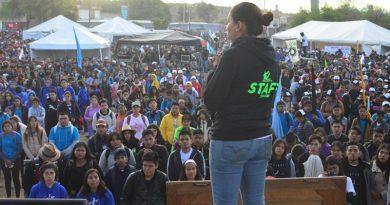 Ante Cristo Rey, asumen jóvenes su compromiso político con México