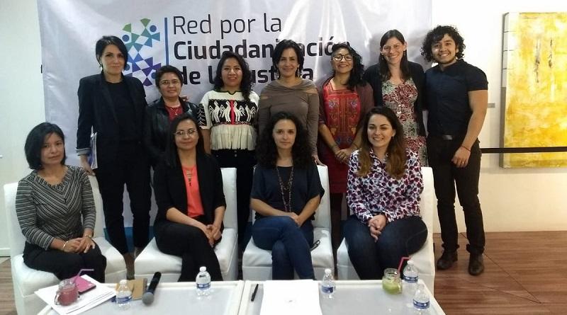 Organizaciones crean Red por la Ciudadanización de la Justicia