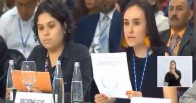 Exigen jóvenes a OEA respetar dignidad humana y promover desarrollo