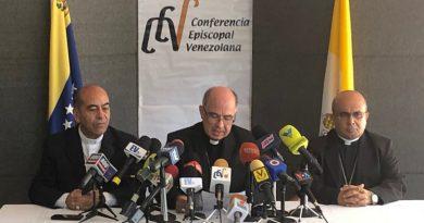 Dios quiere para Venezuela un futuro de esperanza: Iglesia