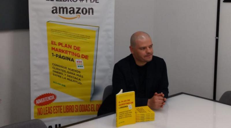 Presentan libro de Marketing práctico y eficaz. Allan Dib