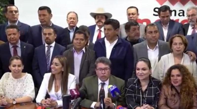 Será Mónica Fernández, no Martí Batres, la presidenta del Senado
