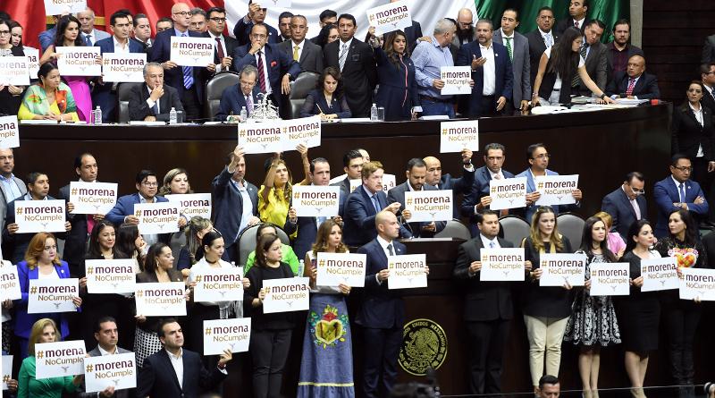 Morena incumple acuerdo: se queda con la presidencia de la Cámara