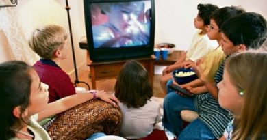 La tele en mi casa