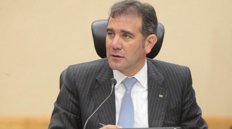 Lorenzo Córdova Vianello hace especial hincapié en el presupuesto del INE
