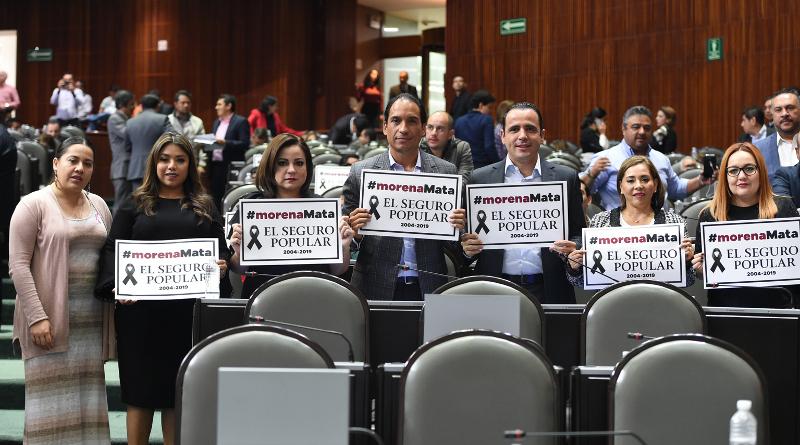 MORENA y AMLO dejan sin Seguro Popular a 50 millones de mexicanos