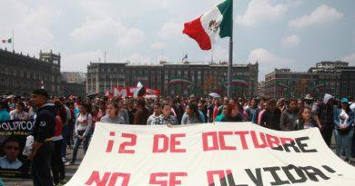 Red ciudadana exige seguridad ante la marcha del 2 de octubre