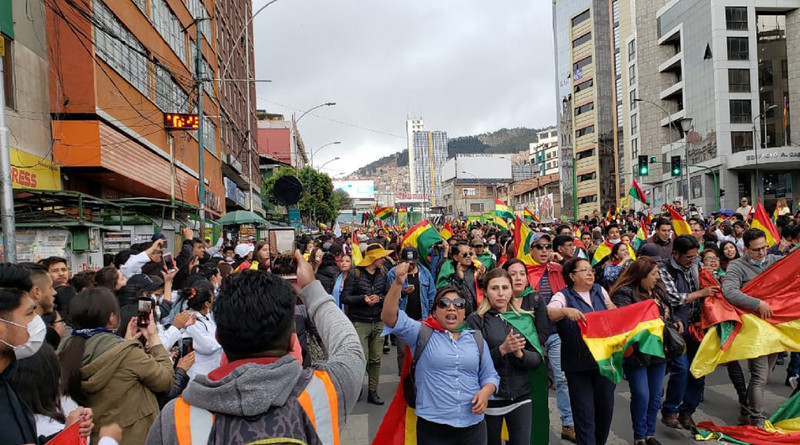 En Bolivia no hubo golpe de Estado