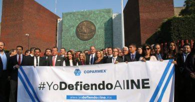 Gustavo de Hoyos Walther lanza la campaña de defensa del INE desde la Cámara de Diputados