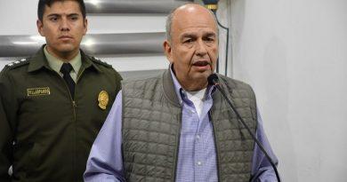 Arturo Murillo, ministro de Gobierno de Boliva