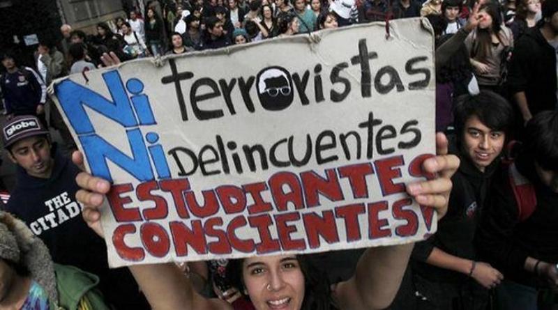 Protesta estudiantil: heridas e ideales juveniles