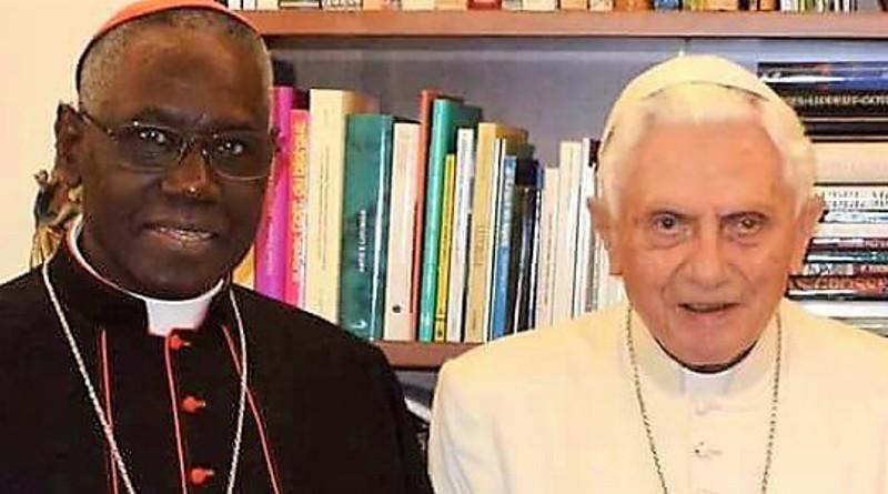 Sarah, Benedicto y la unidad de la Iglesia