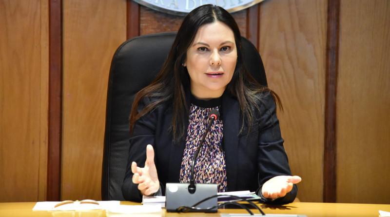 Laura Angélica Rojas Hernández, presidenta de la Cámara de Diputados