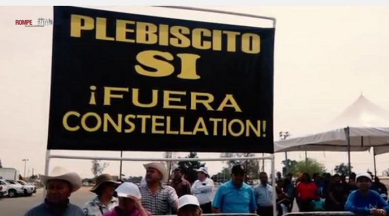 """""""Consulta"""" en Mexicali rechaza planta cervecera de Constellation Brands"""