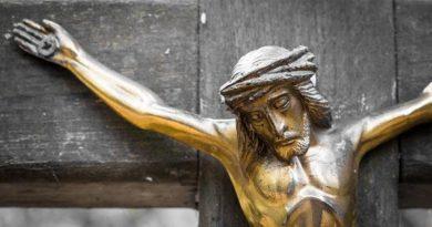 Perdóname, Jesús. No quise herir a tu hijo, Ave Maria.