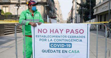 México: establecimientos cerrados, por el coronavirus