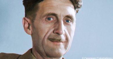 """""""La rebelión en la granja"""" y """"1984"""", dos de las obras de Orwell sobre totalitarismo."""