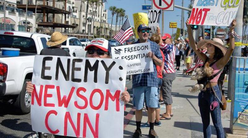 Estadounidenses no aceptarían nueva ronda de confinamiento