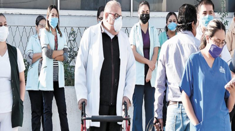 Trabajadores de la salud realizarán su marcha el 1 de julio, en la Ciudad de México.