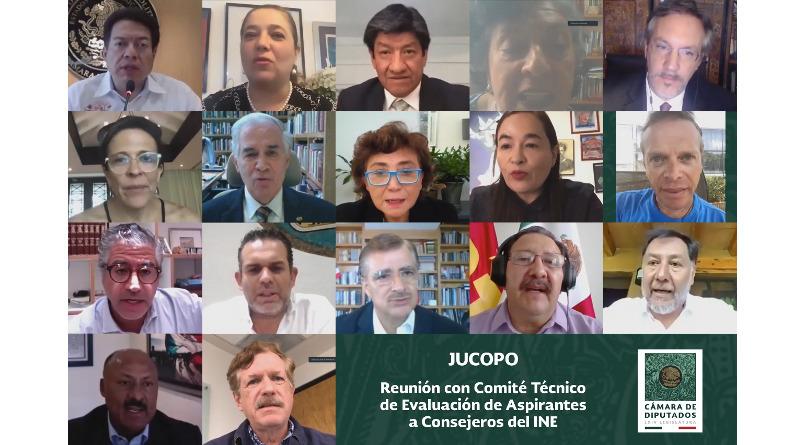 Comité Técnico de Selección entrega lista de 4 quintetas con 20 finalistas para ocupar el cargo de consejero electoral del INE.