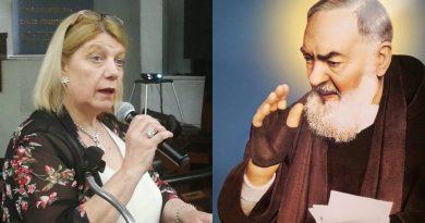 La formación cristiana que le dieron sus padres y la influencia indirecta del Padre Pío, marcaron positivamente la vida de Chinda Brandolino, lideresa provida argentina.