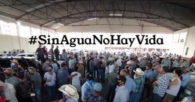 La extracción ilegal de agua de las Presas de Chihuahua no es por un problema entre México y Estados Unidos, sino entre mexicanos.