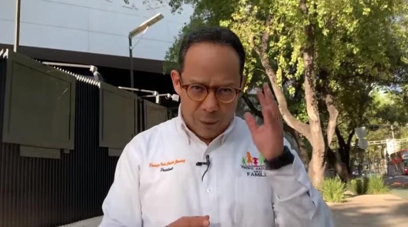 México no necesita aborto ni ideología de género; lo que necesita es salud, seguridad y empleos, dice Rodrigo Iván Cortés, presidente del FNF de México.