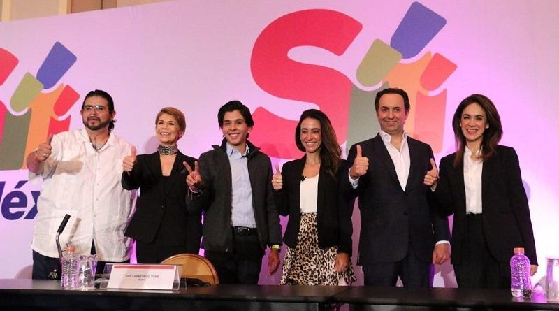 """El movimiento ciudadano de """"Sí por México"""" realizará una Convención Nacional el 8 de noviembre para exigir a los partidos adoptar la Agenda Ciudadana."""