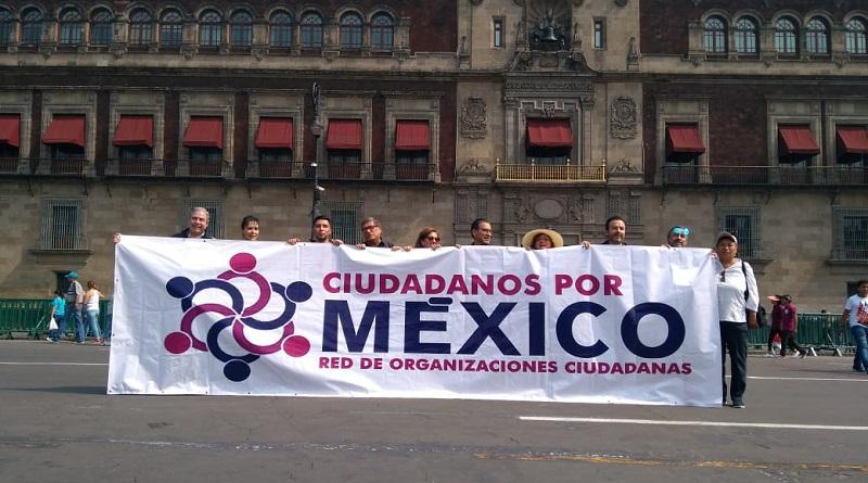La red Ciudadanos por México exige a PAN, PRI y PRD cumplir su compromiso de incluir a ciudadanos en sus candidaturas a diputados federales.