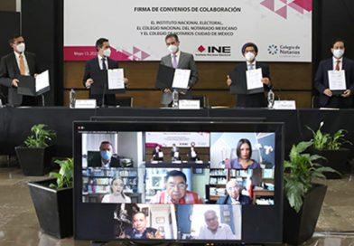 En un contexto donde se quiere desacreditar al INE, Lorenzo Córdova destaca la contribución de Notarios a la certeza de los comicios de México 2021.