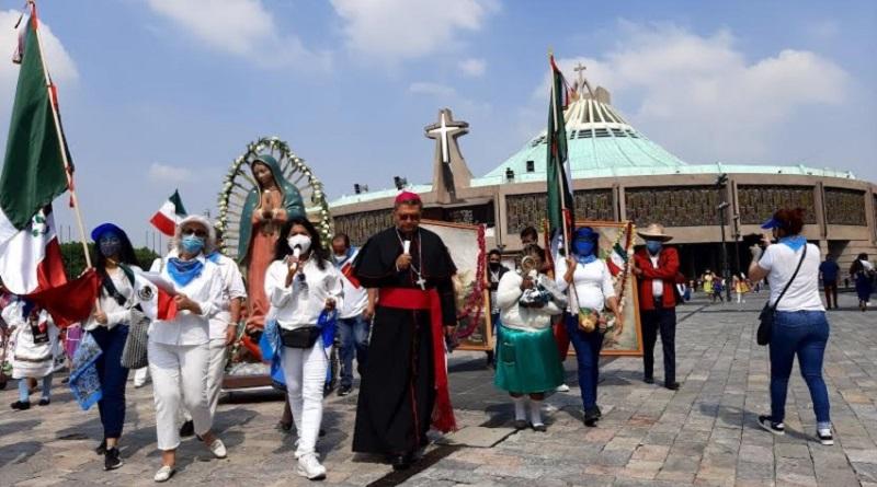 Realizan en la Basílica de Guadalupe de la Ciudad de México Jornada de oración y reflexión en torno a las elecciones del 6 de junio.