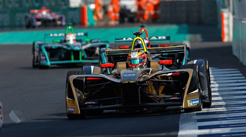 El Campeonato ABB FIA Fórmula E, el primer serial internacional de monoplazas totalmente eléctricos del mundo.