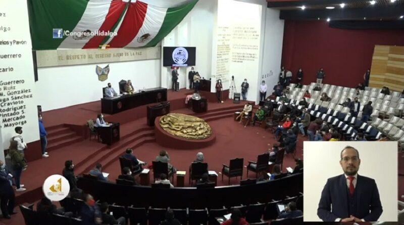 Morena impone el aborto en el Estado de Hidalgo.